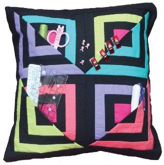 Sewer's Sidekick Pillow Pattern by Cut Loose Press