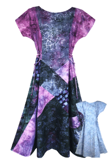 Xceptional Patchwork Dress Pattern by CNT Pattern Company