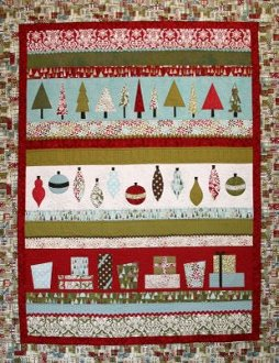 Holiday Line Up  Quilt Pattern by Crazy Old Ladies