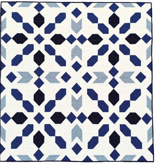 Connector Quilt Pattern in 5 Sizes by Homemade Emily Jane