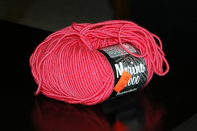 Cool Wool Merino 2000 by Lana Grossa Color 515 Pink