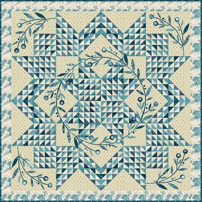 Corona Quilt Pattern by Laundry Basket Quilts