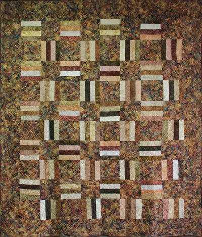 Courtyard Quilt Pattern by Amy's Wagon Wheel Creations