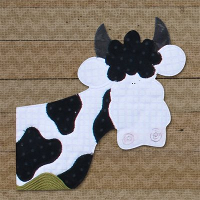 Cow Precut Applique Pack by The Whole Country Caboodle