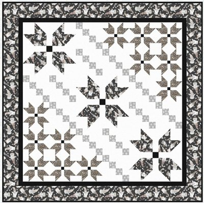Cozy Sweater Quilt Pattern by Bound to be Quilting