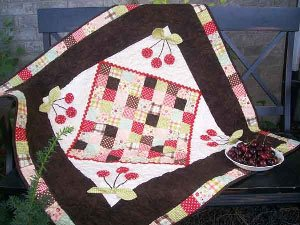 Cherry on Top Quilt Pattern by Cute Quilt Patterns