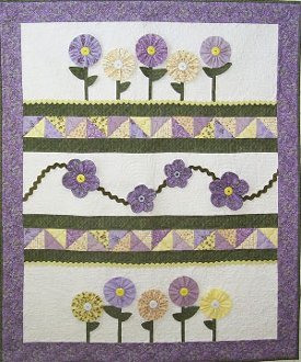 Daisy Daze Quilt Pattern by Cute Quilt Patterns