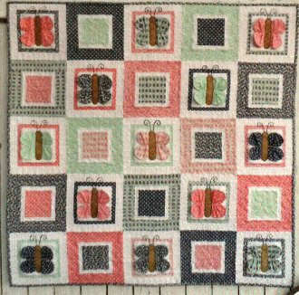 Flutterby Butterfly Quilt Pattern by Cute Quilt Patterns