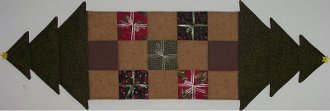 Oh Christmas Tree Tablerunner Pattern by Cute Quilt Patterns