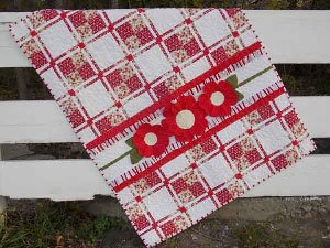 Posy Patch Quilt Pattern by Cute Quilt Patterns