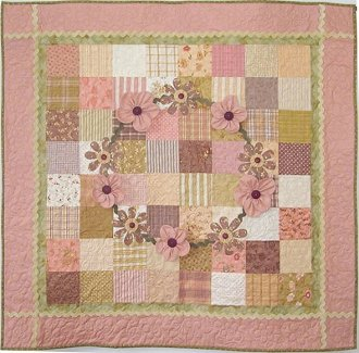 Ring Around The Rosies Baby Quilt Pattern by Cute Quilt Patterns
