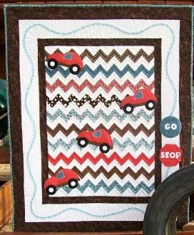 Road Rage Quilt Pattern by Cute Quilt Patterns