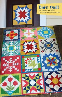 Barn Quilt Pattern by Cabbage Rose