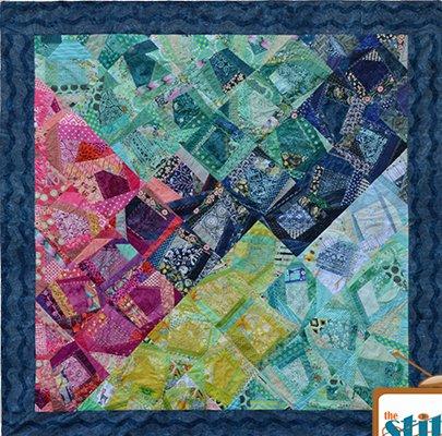 Crazy Modern Quilt Pattern by Ett and Eddie
