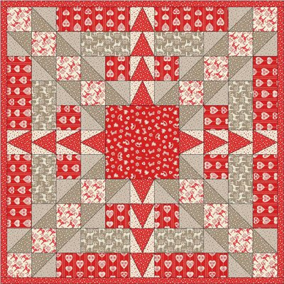 Criss Cross Celebration Quilt Pattern by Alison Vandertang