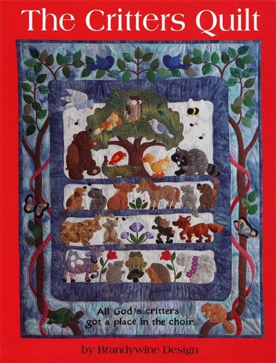 The Critters Quilt Pattern by Brandywine Design