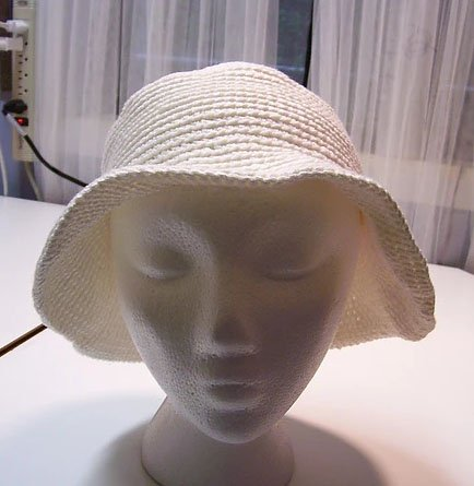 Crocheted Hat Pattern H210 by Johanna Designs