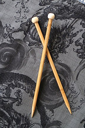 Crystal Palace Bamboo Straight Knitting Needles
