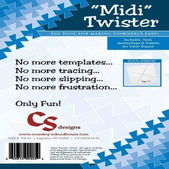 Midi Twister Pinwheel Template by Country Schoolhouse