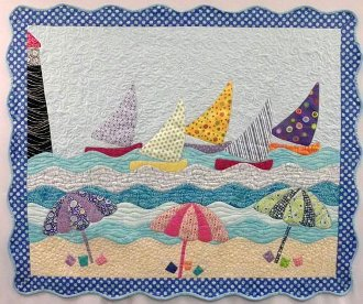 Beachalicious Quilt Pattern by Curvalicious