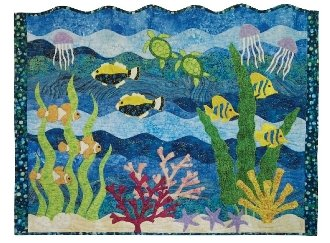 Fishalicious Quilt Pattern by Curvalicious