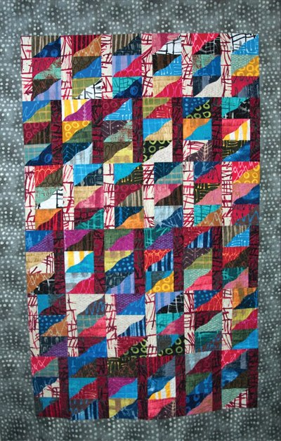 Curve Carnival Quilt Pattern by Amy's Wagon Wheel Creations