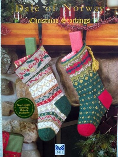 Christmas Stockings Knit Pattern Book by Dale of Norway