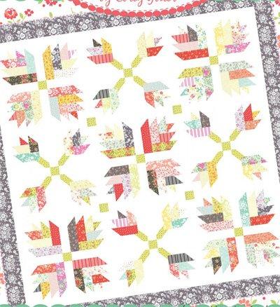 Dandelion Gravy Quilt Pattern by Coriander Quilts