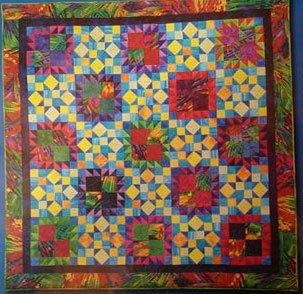 A Murder of Crows Quilt Pattern by Debbie's Creative Moments