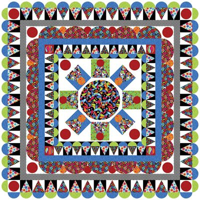Delightful Daisies Quilt Pattern by The Whimsical Workshop