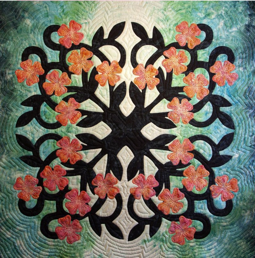 Dogwood Quilt Pattern by Pacific Rim Company