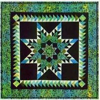 Double Feathered Star Quilt Pattern by A Very Special Collection