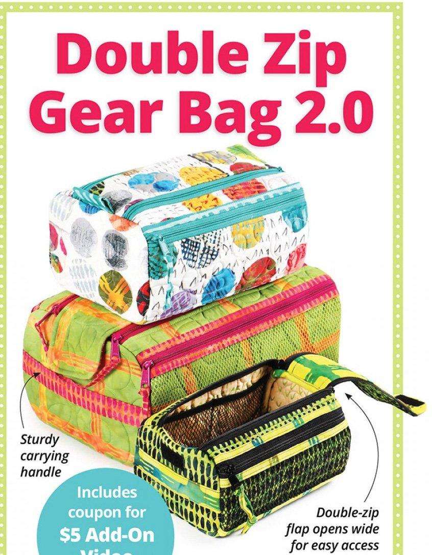 Double Zip Gear Bag 2.0 Pattern by ByAnnie