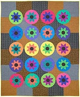 Pedaling Petals Quilt Pattern by Doodle Press Designs