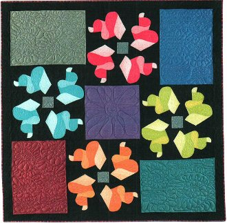 Twirling Twister Quilt Pattern by Doodle Press Designs