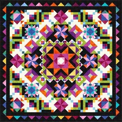 Dutch Wonderland Quilt Pattern by The Whimsical Workshop