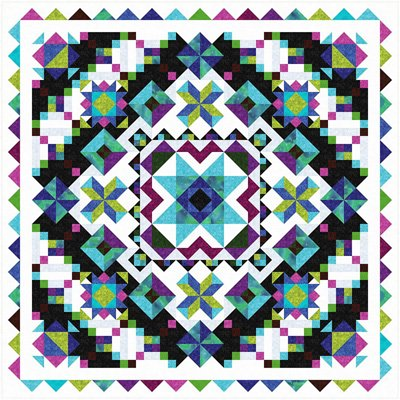 Dutch Wonderland Quilt Pattern by The Whimsical Workshop