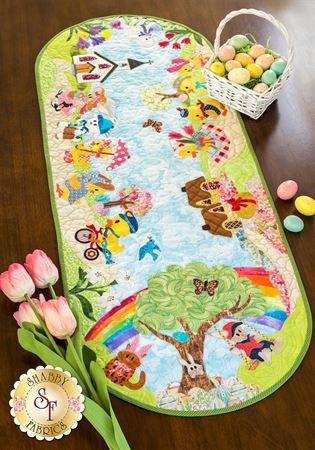Easter Sunday Table Runner Pattern by Shabby Fabrics