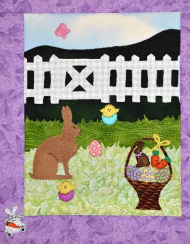 Easter Hunt Themed Set of 11 Buttons by Dress it Up