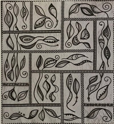 Ebony & Ivory Quilt Pattern by Peggy Phelps