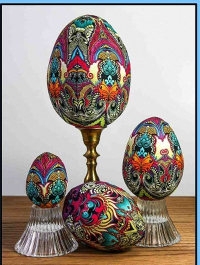 Eggs Sew Easy 3D Decoration Pattern by Needlesongs at KayeWood