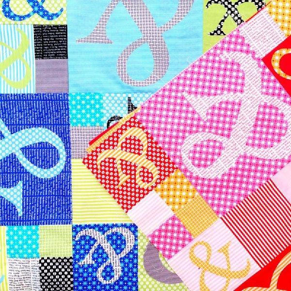 Ampersand Quilt Pattern by Emma Jean Jansen