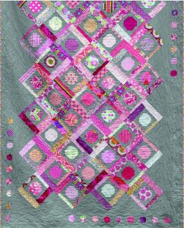 A Snowball's Chance Baby and Twin Quilt Pattern by Eva Paige Quilt Patterns