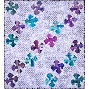 Happy Jacks Quilt Pattern by Eva Paige