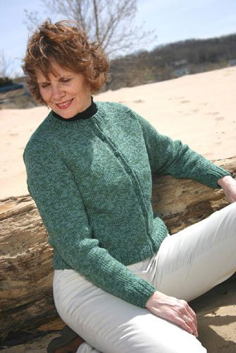 Essential Cardigan Knitted Pattern by Knitting at Knoon