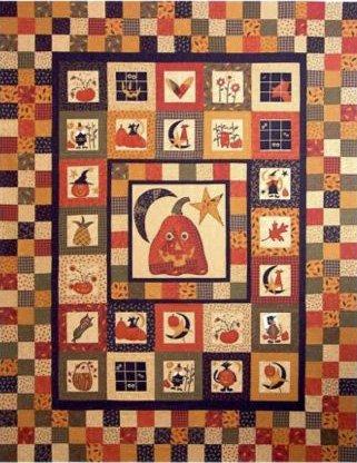 Fall Frolik Quilt Pattern by Mountainpeek Creations