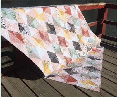 Farm Blessings Quilt Pattern in 3 Sizes by Poppie Cotton