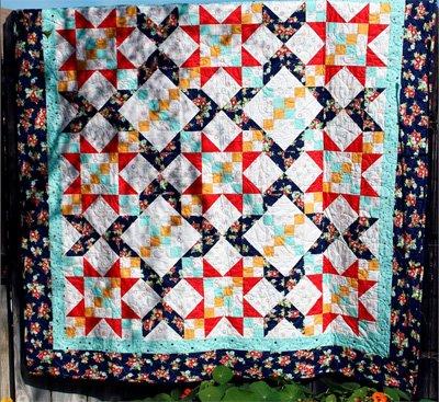 Farmhouse Quilt Pattern by Swirly Girls