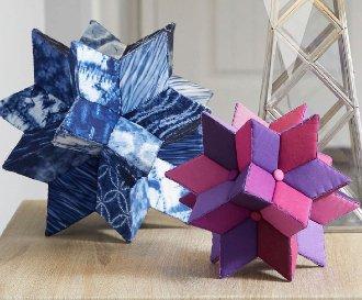 Centerpiece Stars 3-D Pattern by Fabri-flair