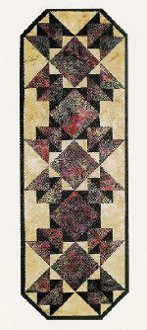 Moroccan Tiles Quilt Pattern by Far Flung Quilts